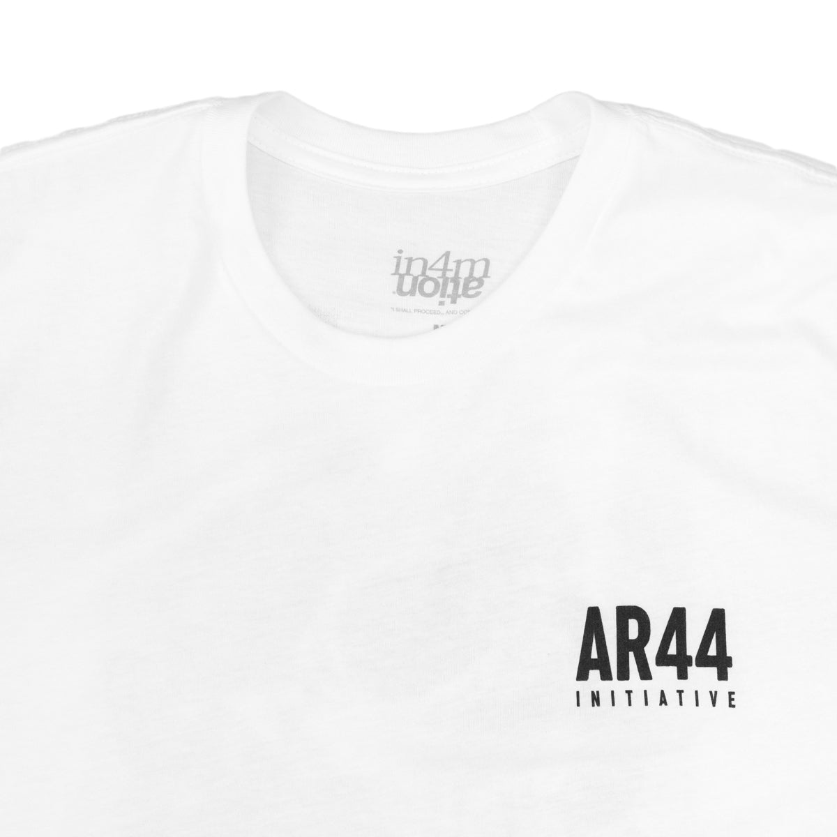 AR44 INITIATIVE - SILENCE (WHITE)