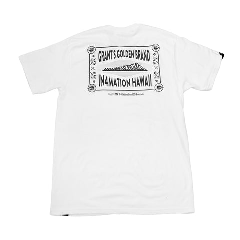 IN4MATION - GRANTS GOLDEN BRAND X IN4MATION (WHITE)