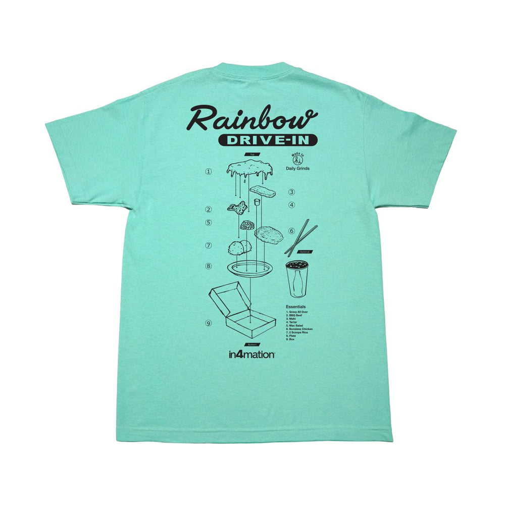 IN4MATION X RAINBOW DRIVE IN ESSENTIAL TEE