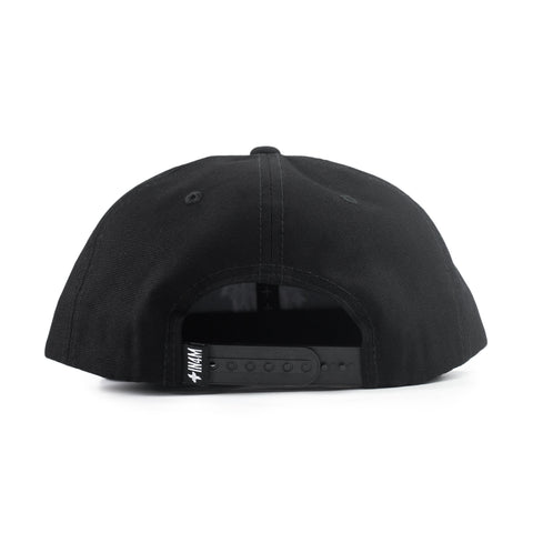 IN4MATION - COLLEGE SNAPBACK (BLACK/WHITE)