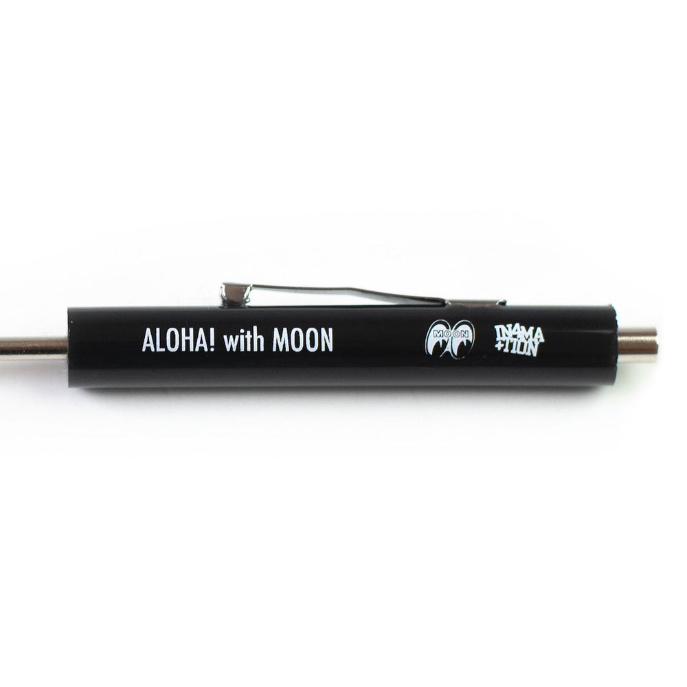 ALOHA WITH MOON POCKET SCREWDRIVER (BLACK)