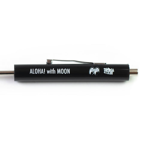 IN4MATION - ALOHA WITH MOON POCKET SCREWDRIVER (BLACK)