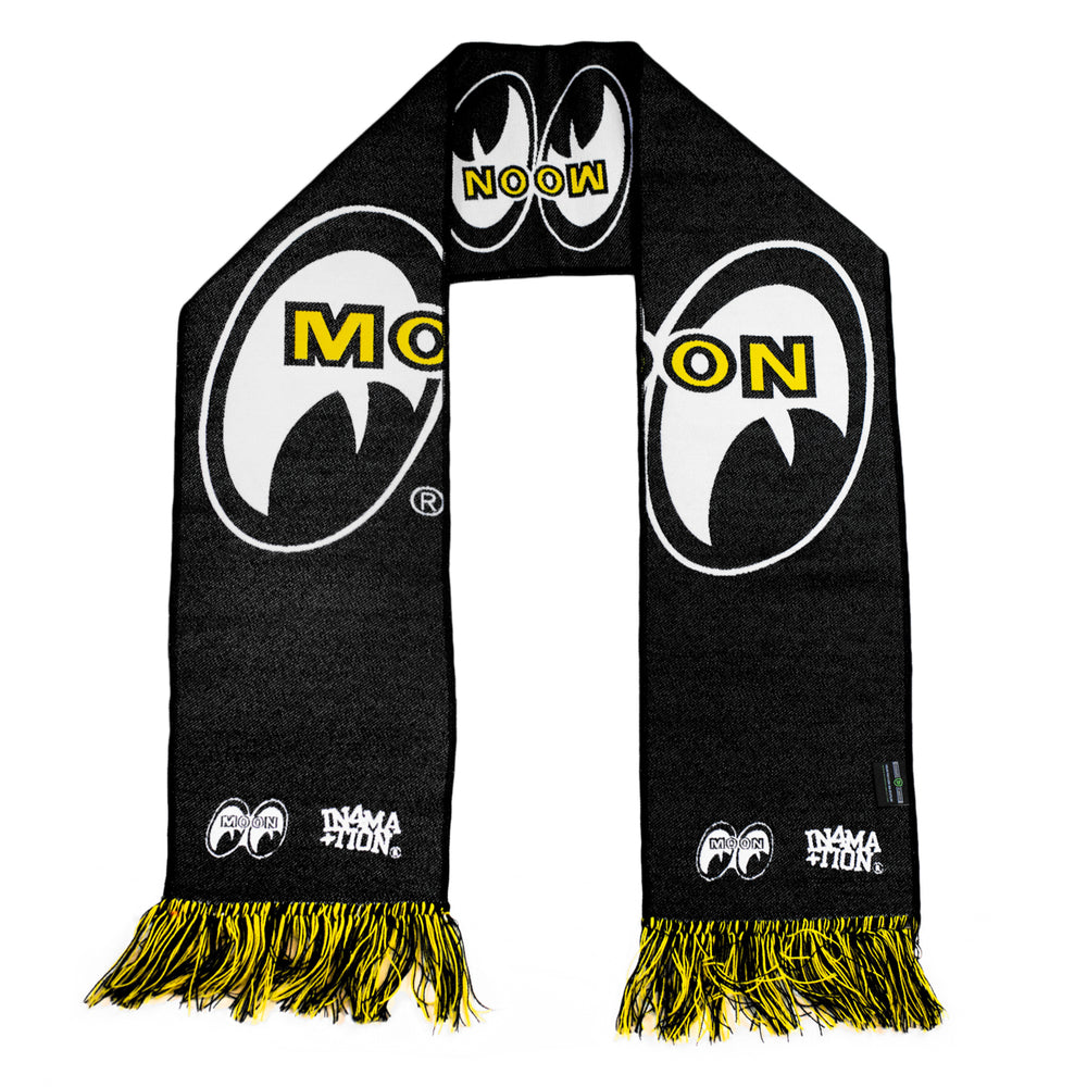 MOONEYES LOGO SCARF (BLACK)