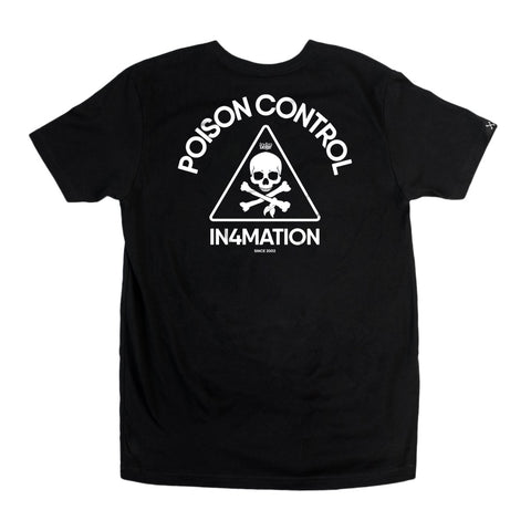 IN4MATION - Cheers Release - PSNC Skull Tee (Black )