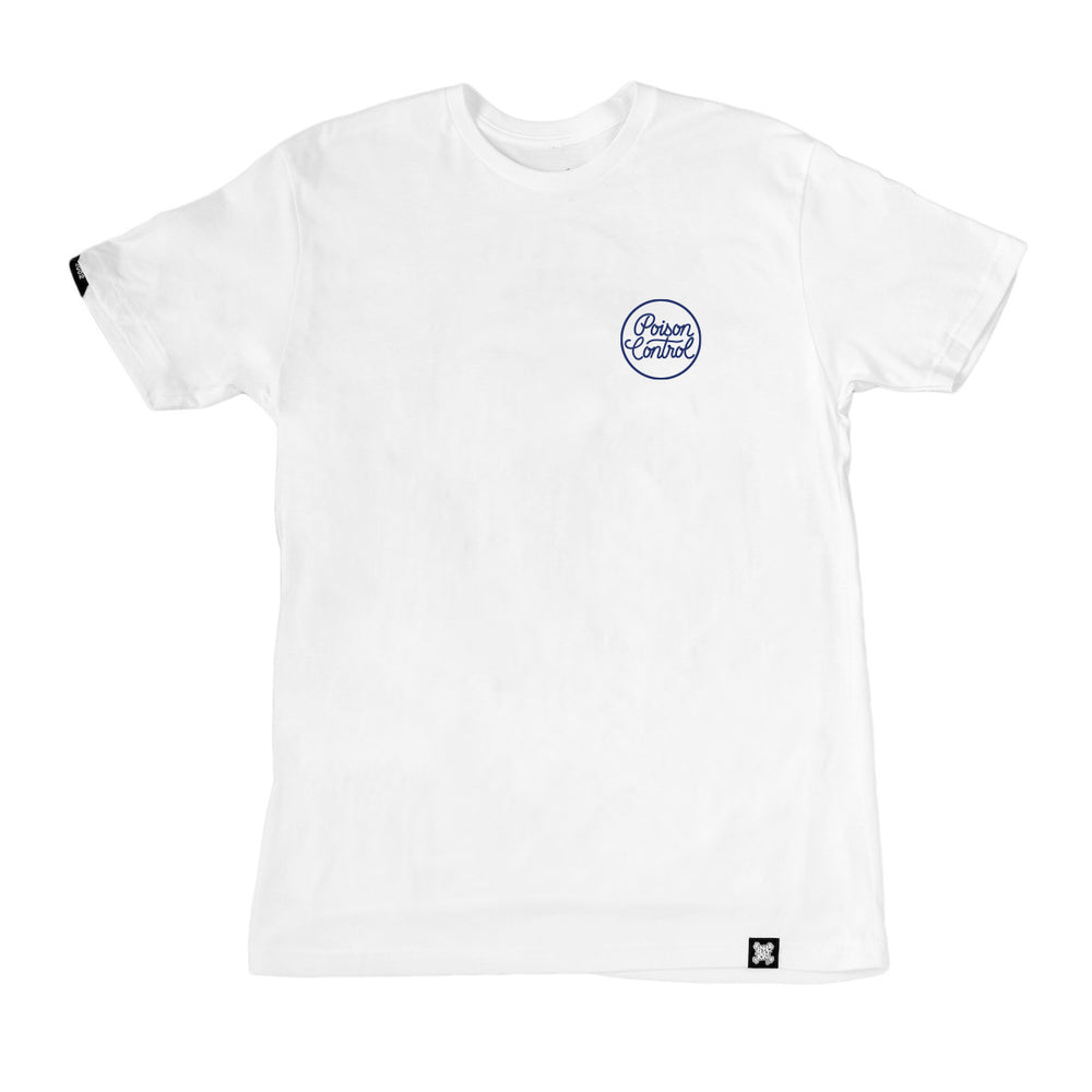 IN4MATION - Cheers Release - PSNC Skull Tee (White)