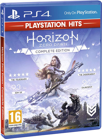 Horizon Zero Dawn Complete Edition (Sony PS4) - Playstation Hits Edition