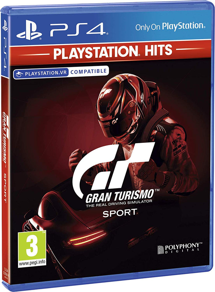 Gran Turismo Sport (PS4) - Playstation Hits Edition