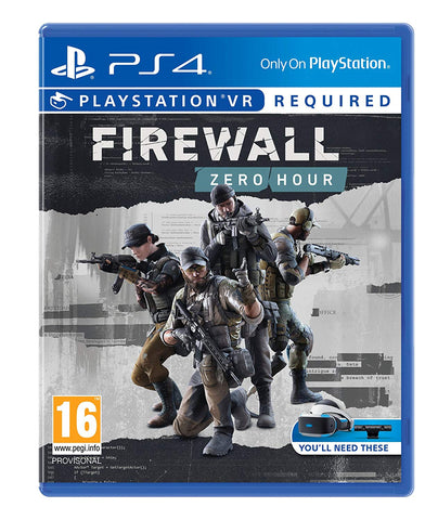 Firewall Zero Hour (Sony PS4)