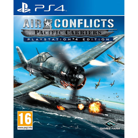 Air Conflicts Pacific Carriers (Sony PS4)