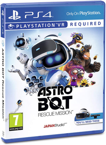 Astro Bot Rescue Mission VR (Sony PS4)