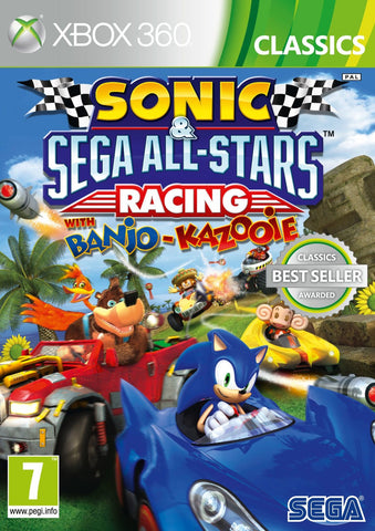 Sonic & Sega All Stars Racing (XBox 360)