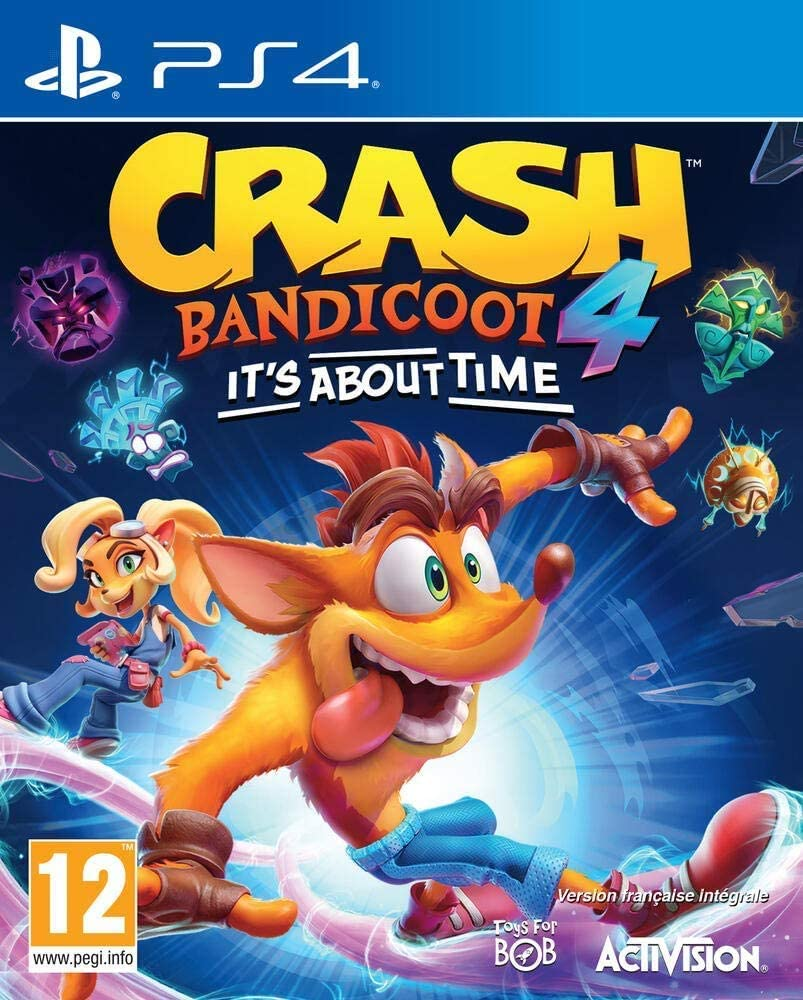 Crash Bandicoot 4: It's About Time (Sony PS4)