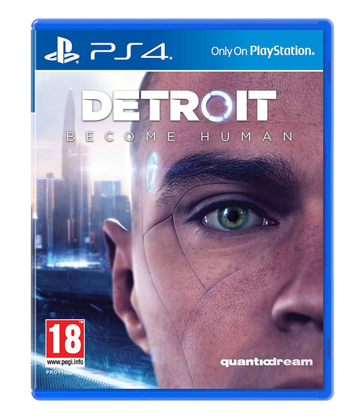 Sony PS4 500gb Slim Console - Black w/ Detroit Become Human