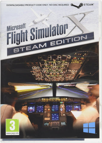Microsoft Flight Simulator X Steam Edition (PC)