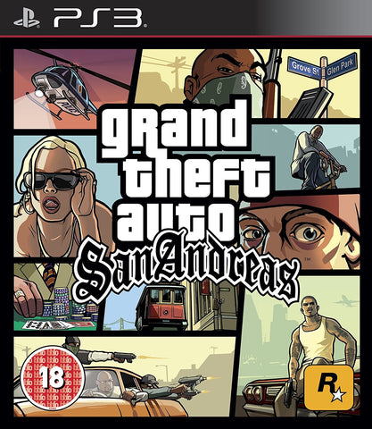 Grand Theft Auto San Andreas (Sony PS3)