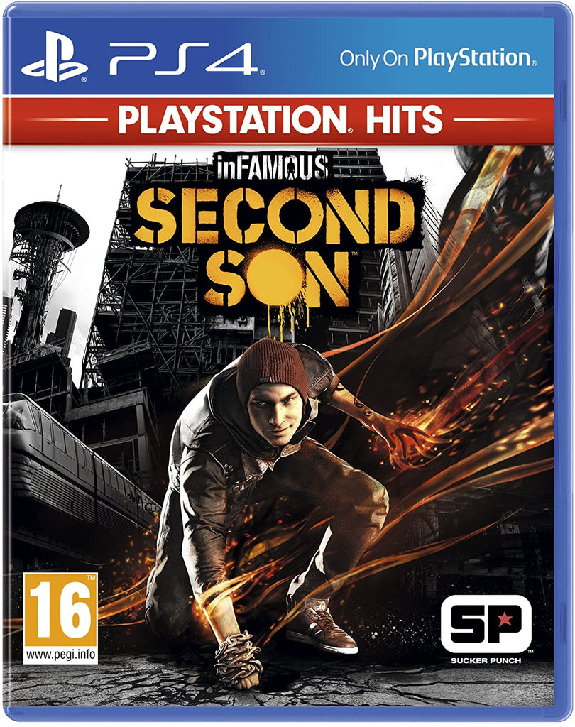 Infamous Second Son (Sony PS4) - Playstation Hits Edition