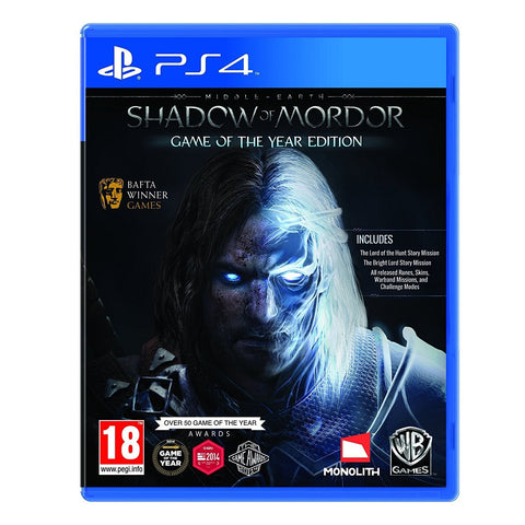 Middle-Earth: Shadow of Mordor GOTY Edition (Sony PS4)