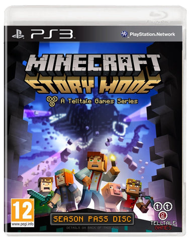 Minecraft: Story Mode - A Telltale Game Series - Season Disc (Sony PS3)