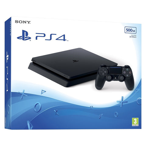 Sony PlayStation 4 500GB Slim Console - Black