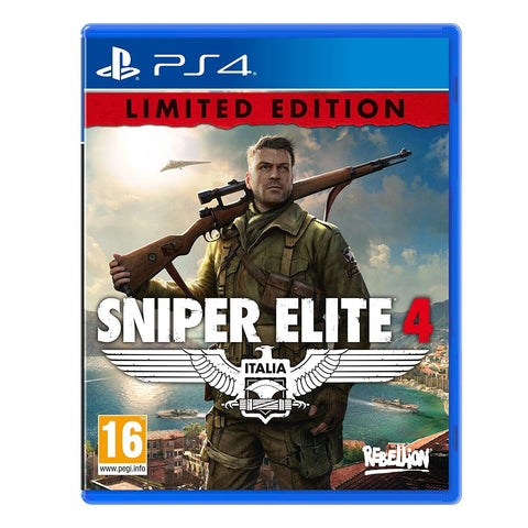 Sniper Elite 4 (Sony PS4)