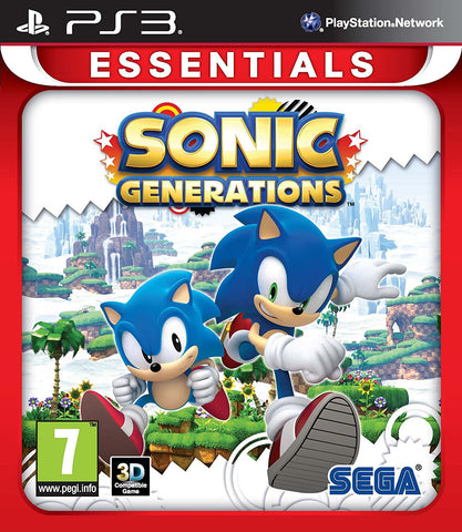 Sonic Generations (Sony PS3)