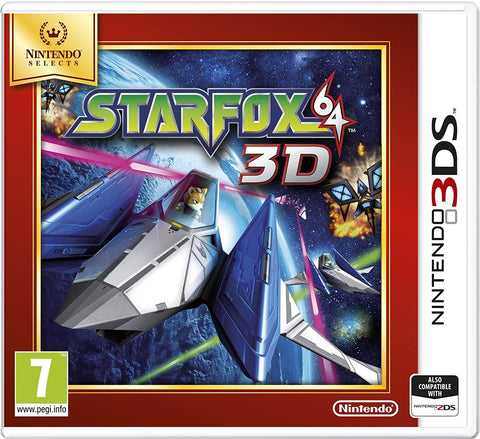 Star Fox 64 3D (Nintendo 3DS)