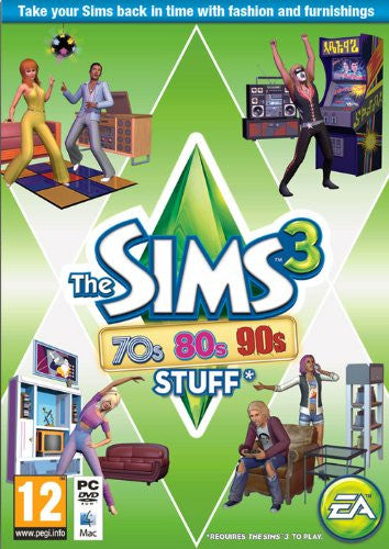 The Sims 3: 70s, 80s and 90s Stuff (PC)