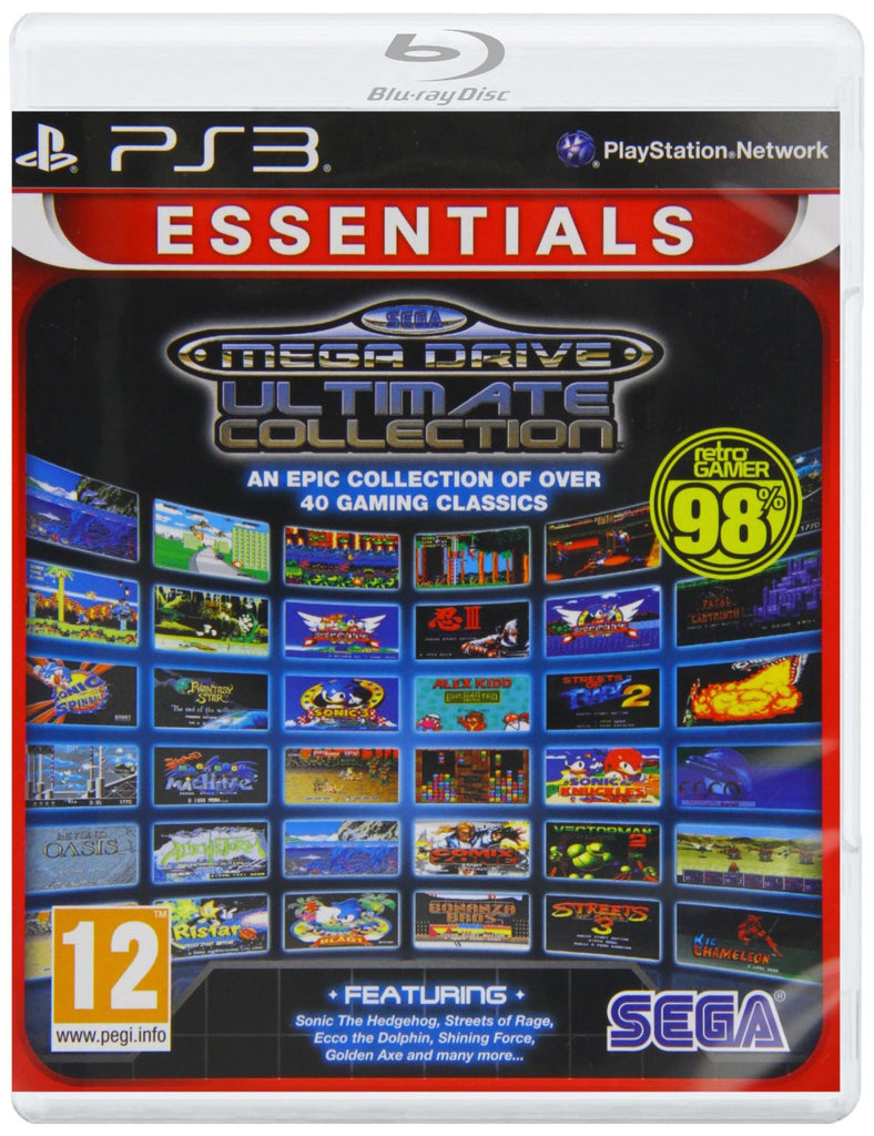 SEGA Mega Drive Ultimate Collection (Sony PS3)