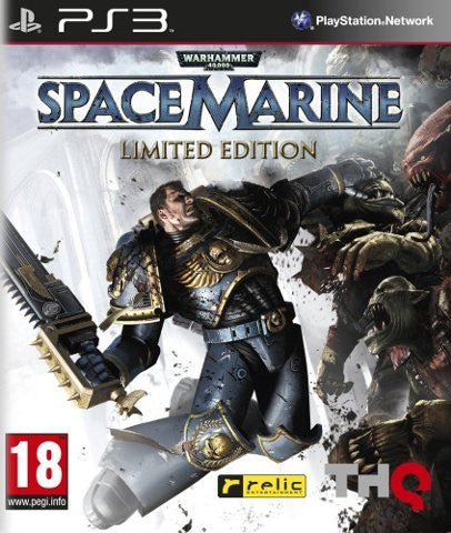 Warhammer 40,000: Space Marine Limited Edition (Sony PS3)