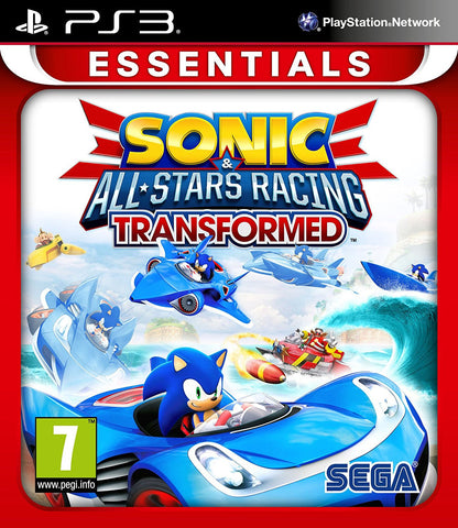 Sonic & Sega All Stars Racing Transformed (Sony PS3)