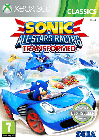 Sonic & Sega All Stars Racing Transformed (XBox 360)