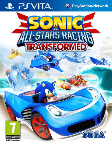 Sonic & Sega All Stars Racing Transformed  (PS Vita)