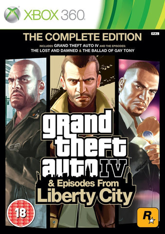 Grand Theft Auto IV: Complete Edition (XBox 360)