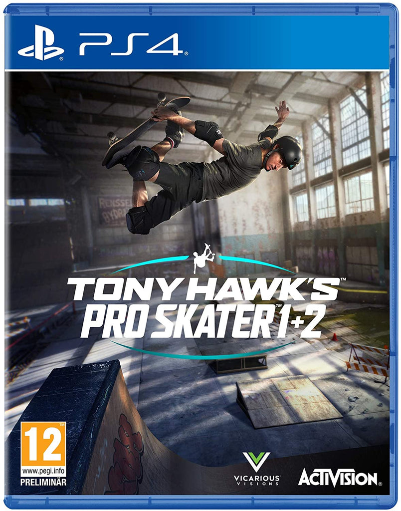 Tony Hawk's Pro Skater 1 + 2 (Sony PS4)