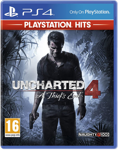 Uncharted 4: A Thief's End (Sony PS4) - Playstation Hits Edition