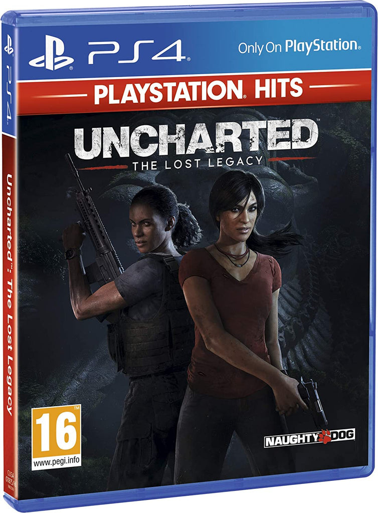 Uncharted The Lost Legacy (Sony PS4) - Playstation Hits Edition