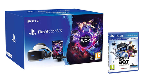 Sony Playstation VR Starter Pack w/ Astro Bot Rescue Mission VR
