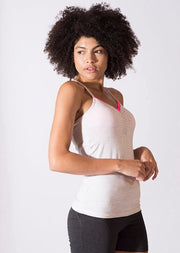 Bamboo Sweat prepped Cami Rouched Top