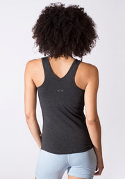 Bamboo Fitness Tank - CARROT BANANA PEACH
