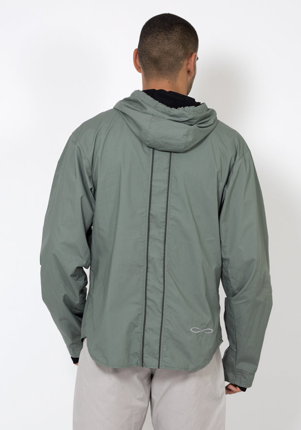Organic Cotton Poplin Smart Running Jacket