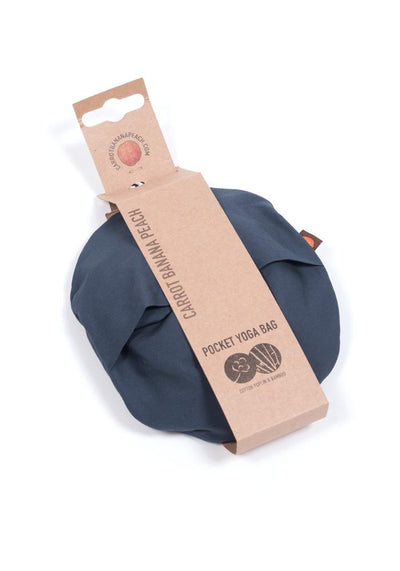 Organic Cotton Poplin Yoga Mat Carrier - CARROT BANANA PEACH