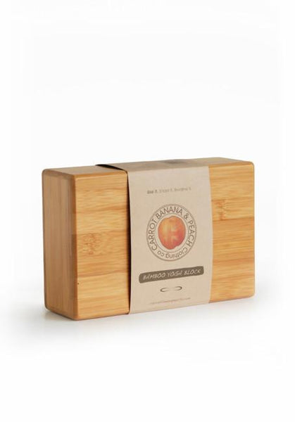 Bamboo Block - CARROT BANANA PEACH