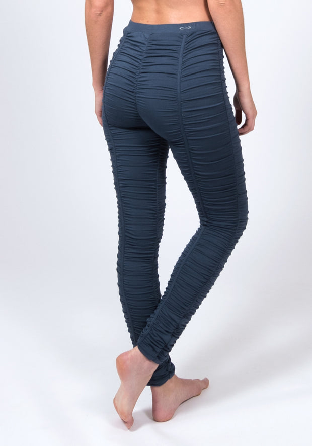 Soybean Groove Leggings - CARROT BANANA PEACH