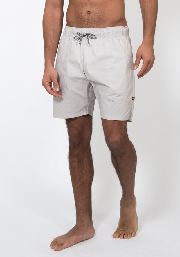 Organic Cotton Poplin Running Shorts - CARROT BANANA PEACH