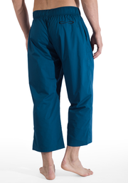 Organic Cotton Poplin 3/4 Warrior Pants