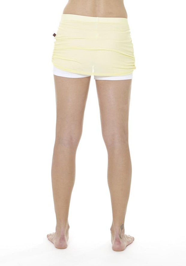 Banana Fitness Skort - CARROT BANANA PEACH