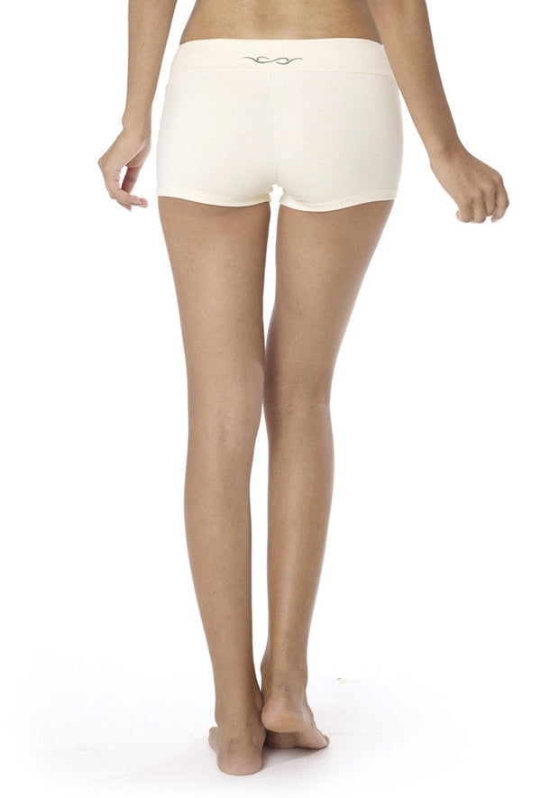 Bamboo Hatha Shorts - CARROT BANANA PEACH