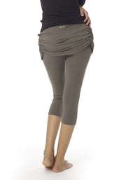 Milk Skort Capri Leggings