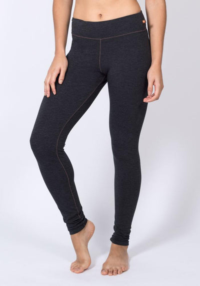 Bamboo Yoga Leggings - CARROT BANANA PEACH