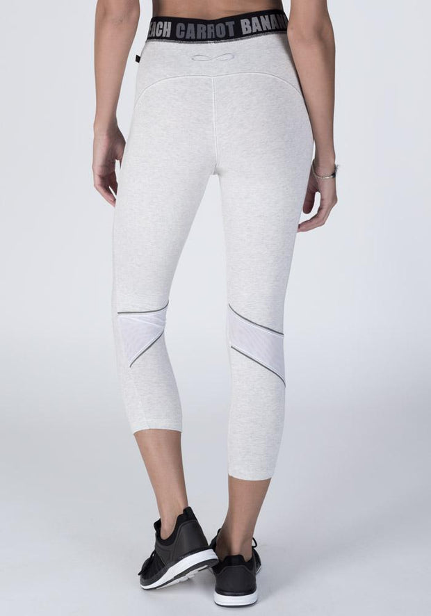 Bambus beskåret fitness leggings